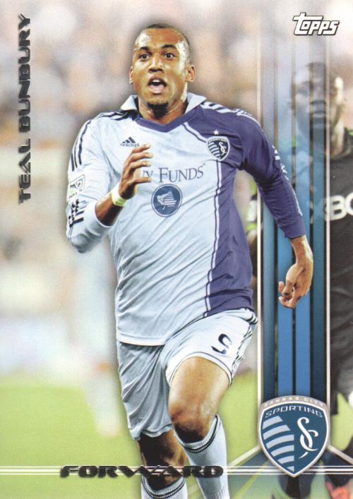 2013 Topps MLS #199 Teal Bunbury