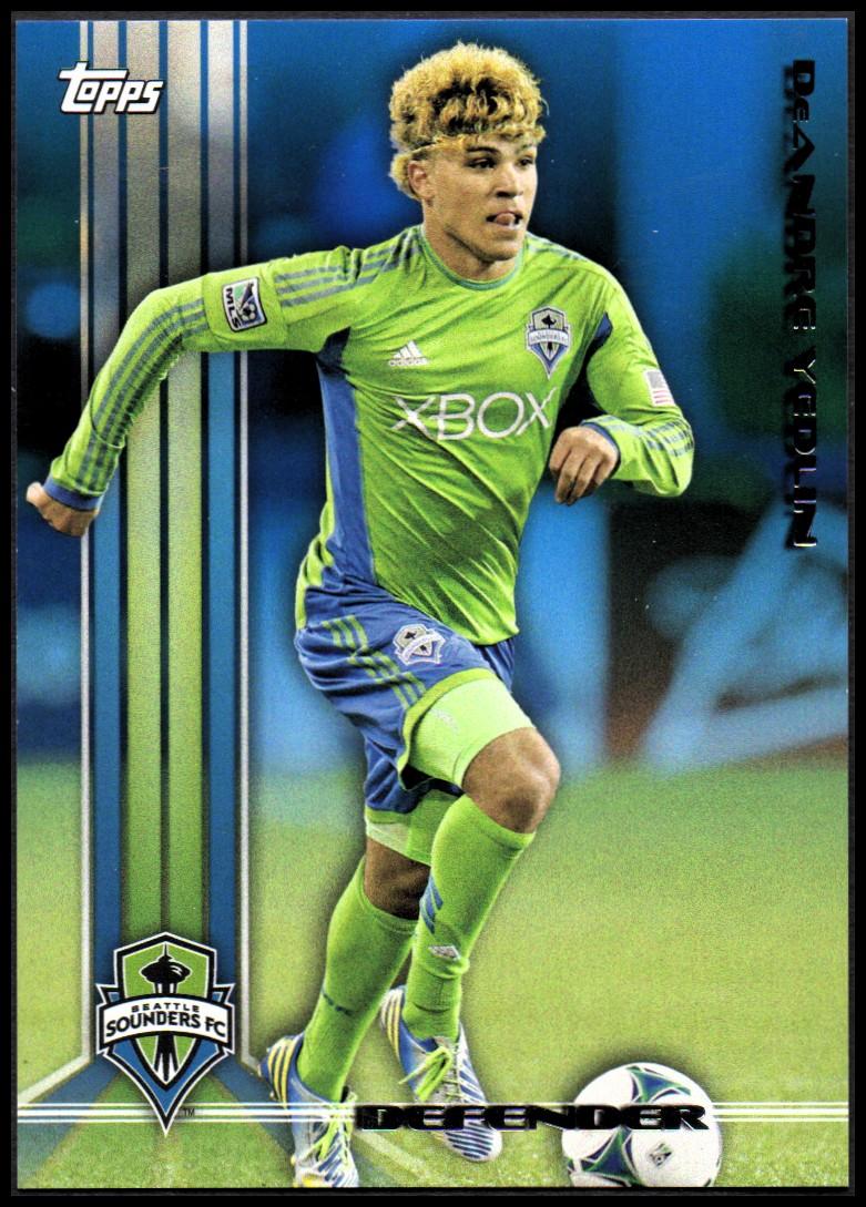 2013 Topps MLS Blue #42 DeAndre Yedlin