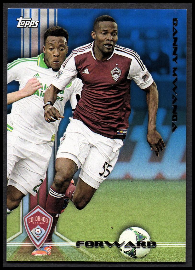 2013 Topps MLS Blue #148 Danny Mwanga