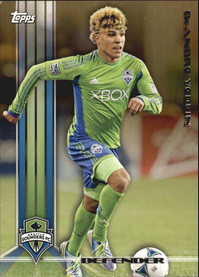 2013 Topps MLS Gold #42 DeAndre Yedlin