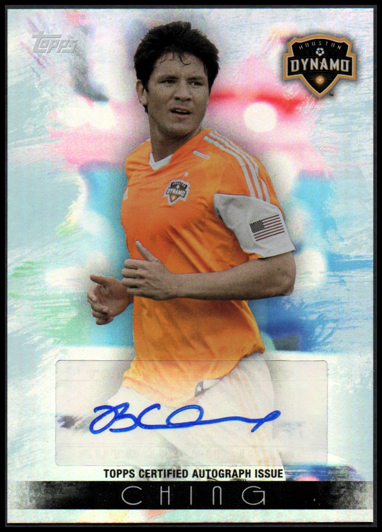 2013 Topps MLS Maestros Autographs #BC Brian Ching