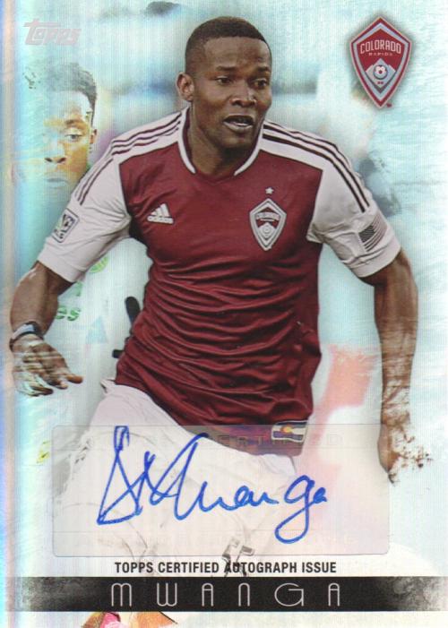 2013 Topps MLS Maestros Autographs #DM Danny Mwanga