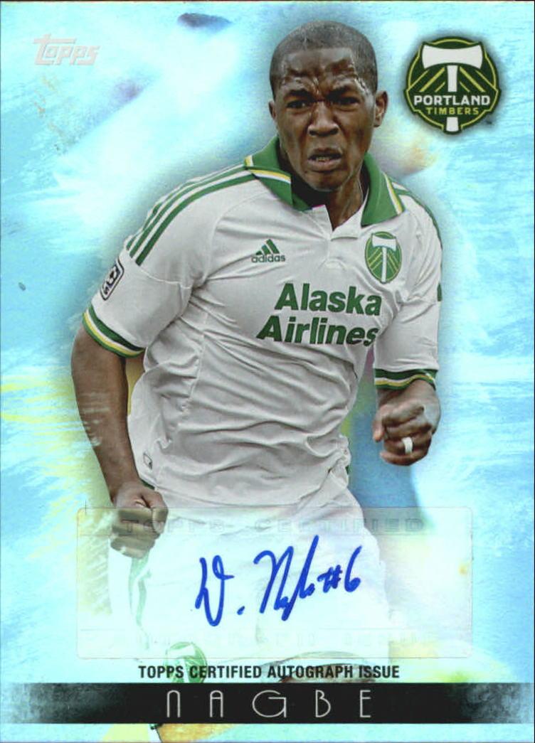 2013 Topps MLS Maestros Autographs #DN Darlington Nagbe