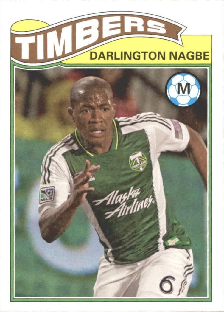 2013 Topps MLS 1978 English Footballer #DN Darlington Nagbe