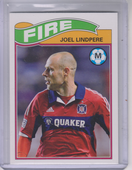 2013 Topps MLS 1978 English Footballer #JL Joel Lindpere