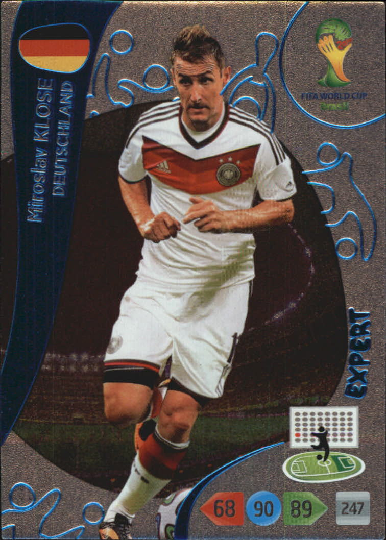 2014 Adrenalyn XL  World Cup Brazil Expert #6 Miroslav Klose