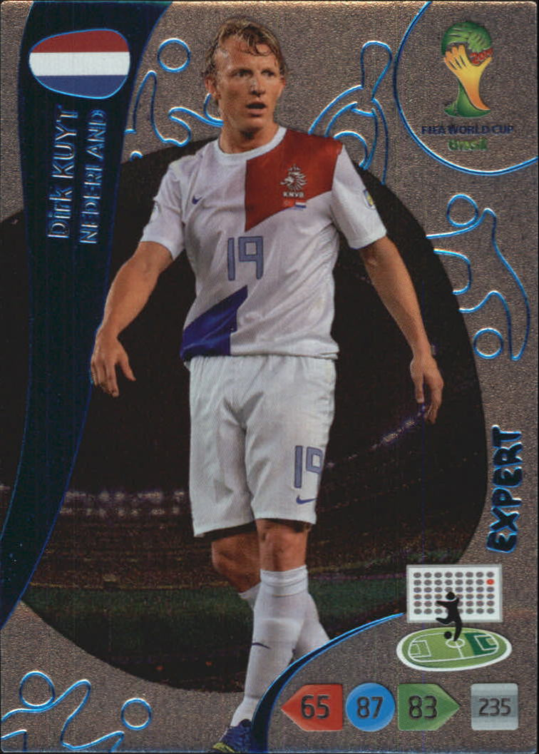 2014 Adrenalyn XL  World Cup Brazil Expert #7 Dirk Kuyt