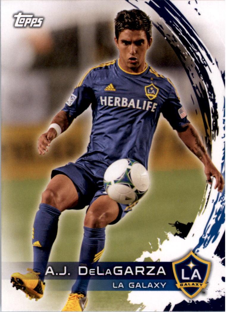 2014 Topps MLS #136 A.J. DeLaGarza