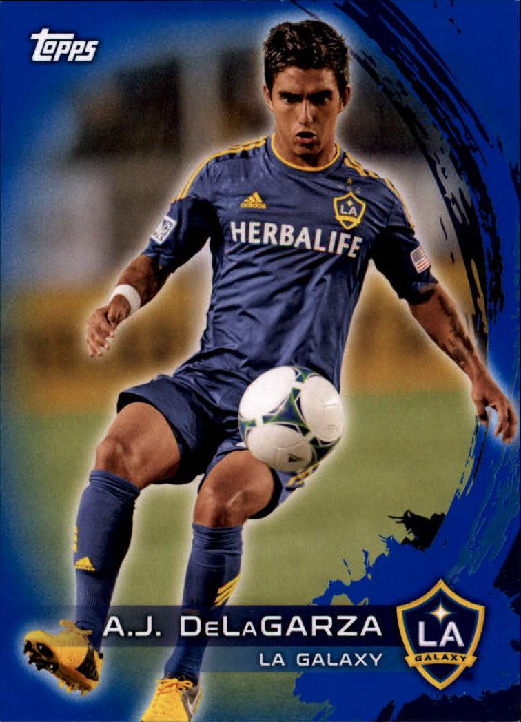 2014 Topps MLS Blue #136 A.J. DeLaGarza