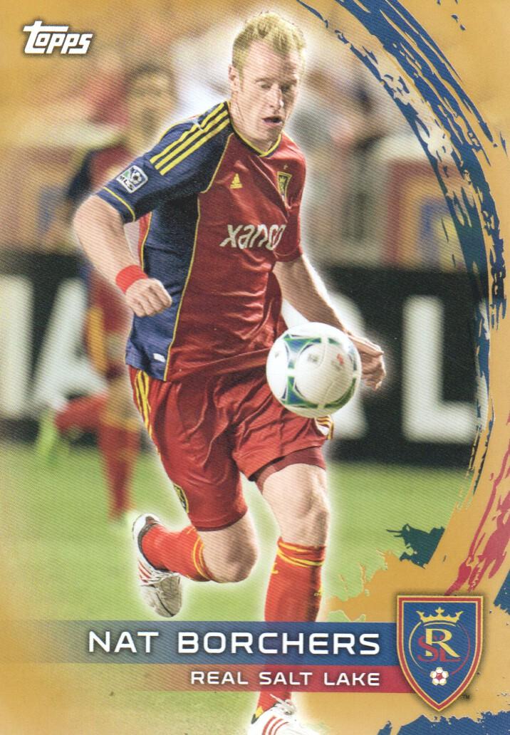 2014 Topps MLS Gold #148 Nat Borchers