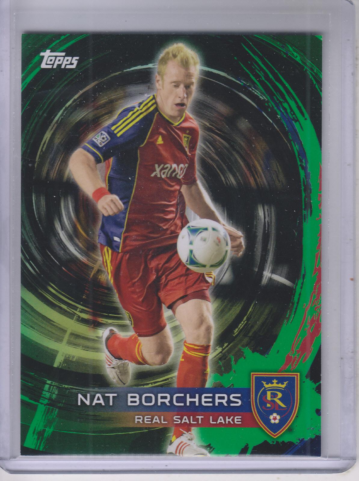 2014 Topps MLS Golazo #148 Nat Borchers