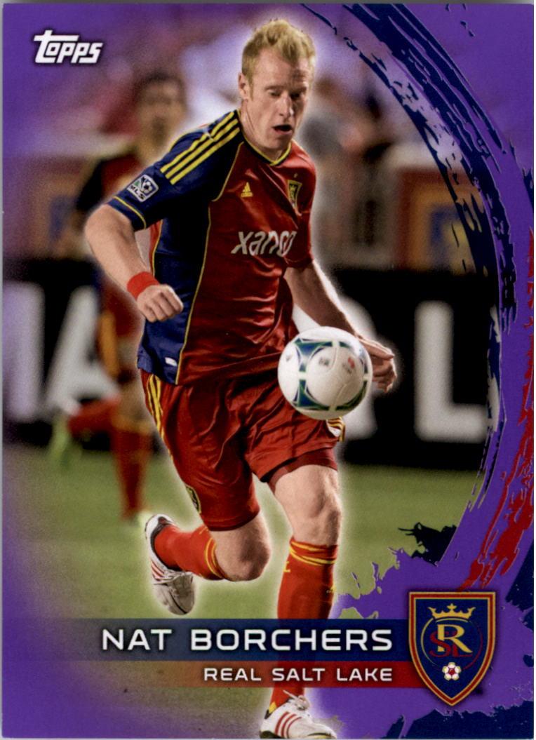 2014 Topps MLS Purple #148 Nat Borchers