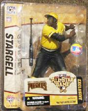 2006 McFarlane Baseball Fanfest Exclusives #21 Willie Stargell Yellow Variant