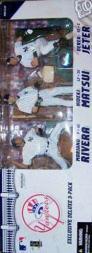 2006 McFarlane Baseball 3-Pack #10 Hideki Matsui/Derek Jeter/Mariano Rivera