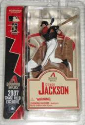 2007 McFarlane Baseball 3-Inch Conor Jackson #10 Conor Jackson