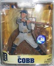 2008 McFarlane Baseball Cooperstown Collection Series 5 #30 Ty Cobb Gray