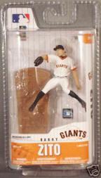 2008 McFarlane Baseball 3-Inch #60 Barry Zito