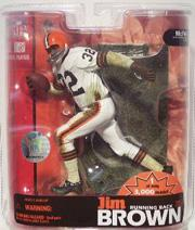 2007 McFarlane Football Hall of Fame #10 Jim Brown