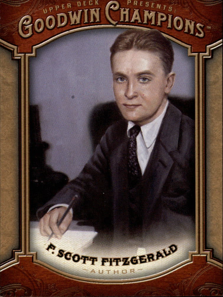 2014 Upper Deck Goodwin Champions #139 F. Scott Fitzgerald SP