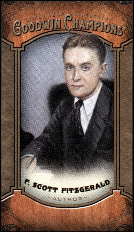 2014 Upper Deck Goodwin Champions Mini #139 F. Scott Fitzgerald