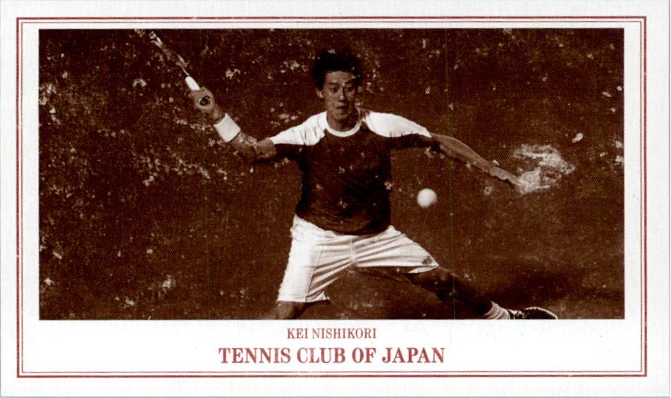 2014 Leaf Peck and Snyder Promos #23? Kei Nishikori tennis
