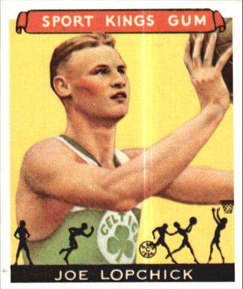 1933 Sport Kings #32 Joe Lapchick BK