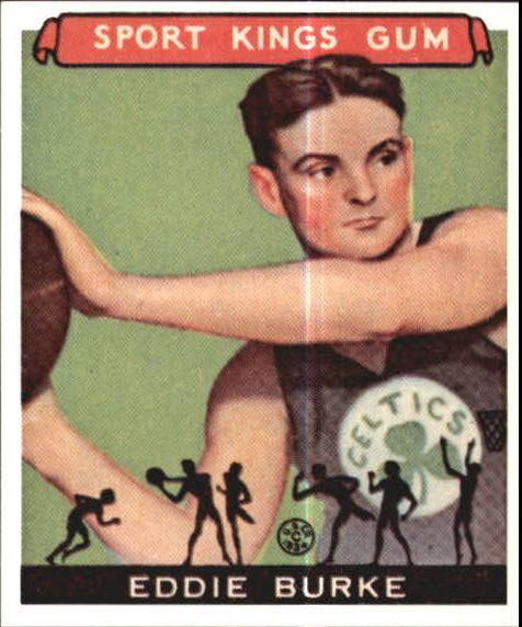 1933 Sport Kings #33 Eddie Burke BK