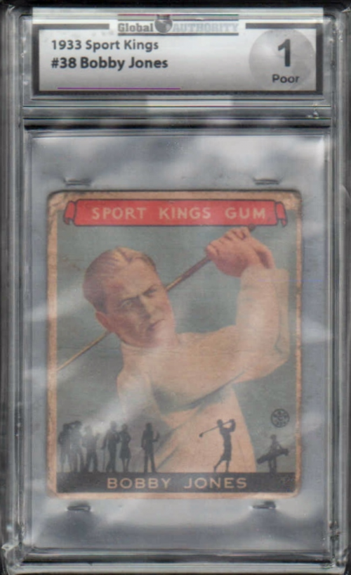 1933 Sport Kings #38 Bobby Jones Golf