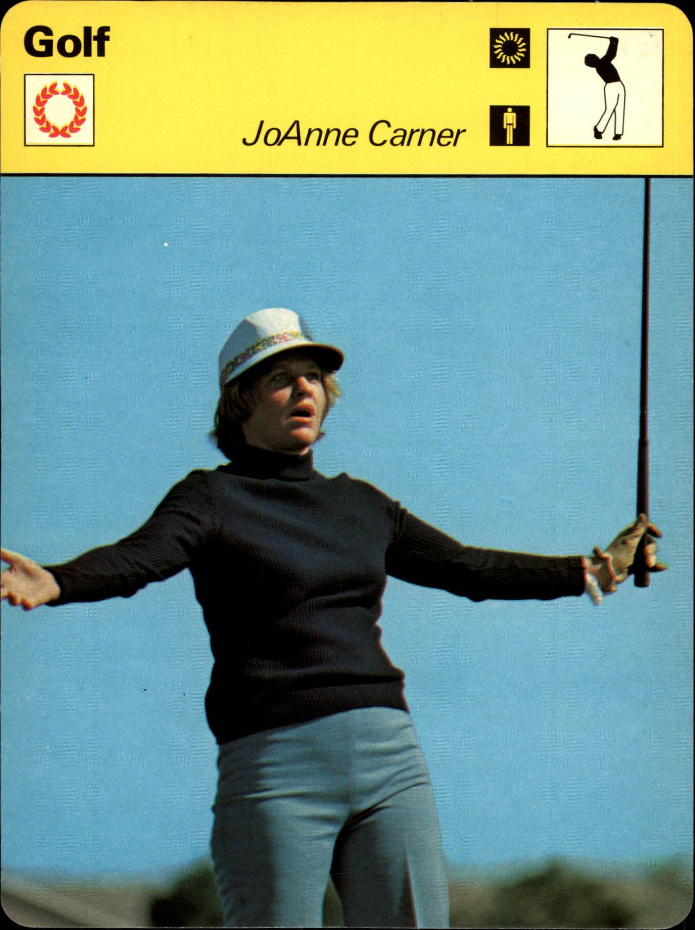 1977-79 Sportscaster Series 34 #3417 Joanne Carner