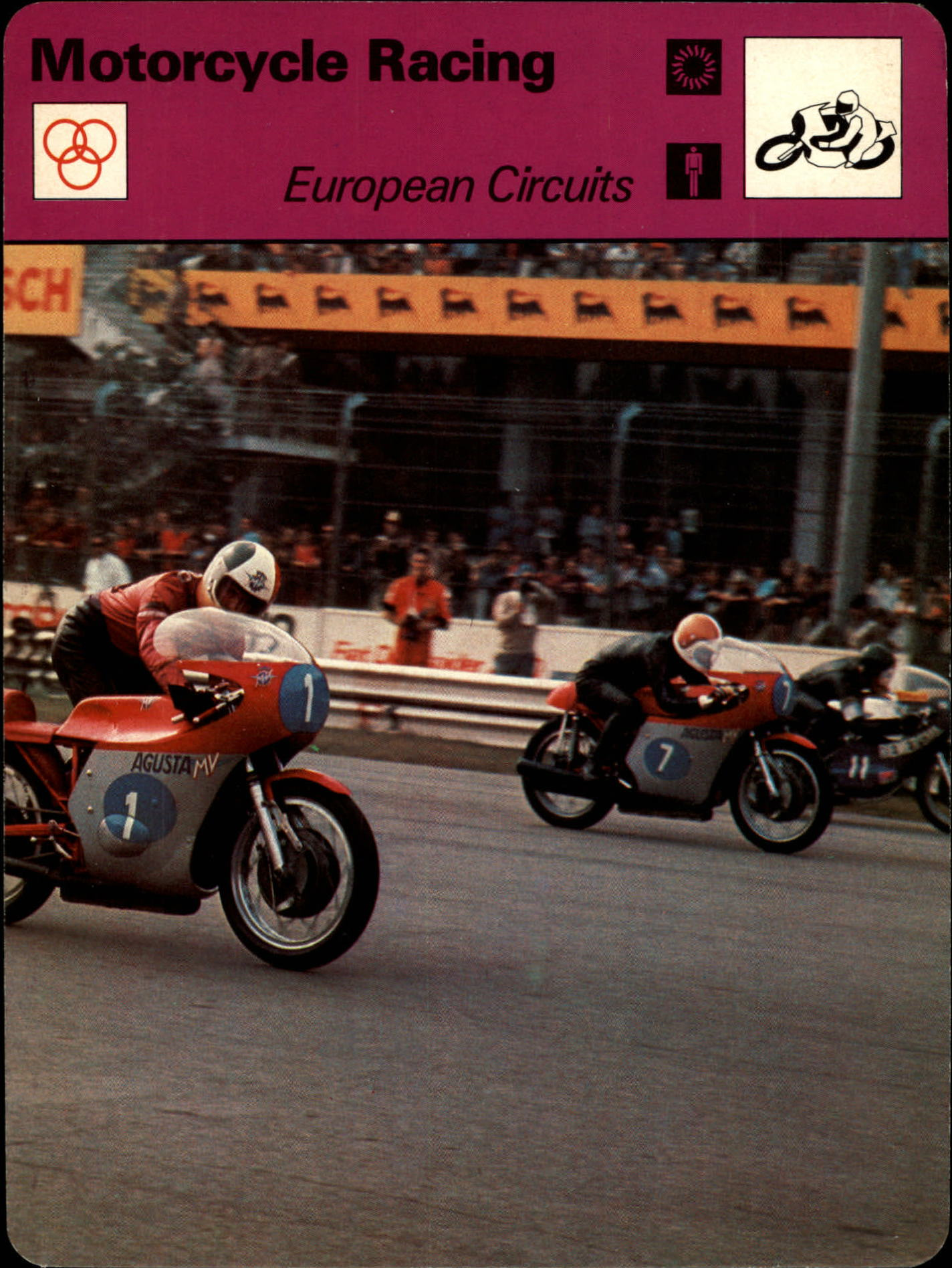 1977-79 Sportscaster Series 10 #1001 European Circuits