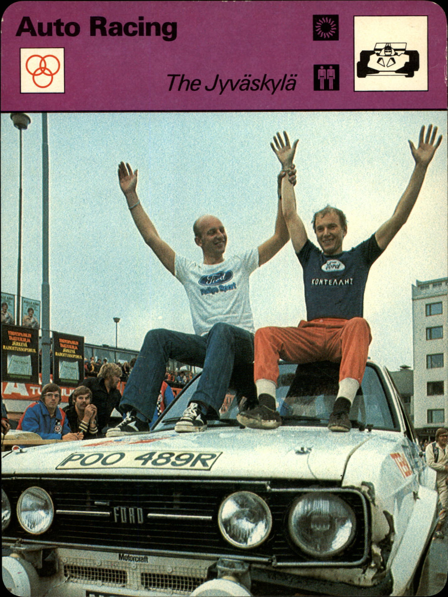 1977-79 Sportscaster Series 101 #10106 The Jyvaskyla