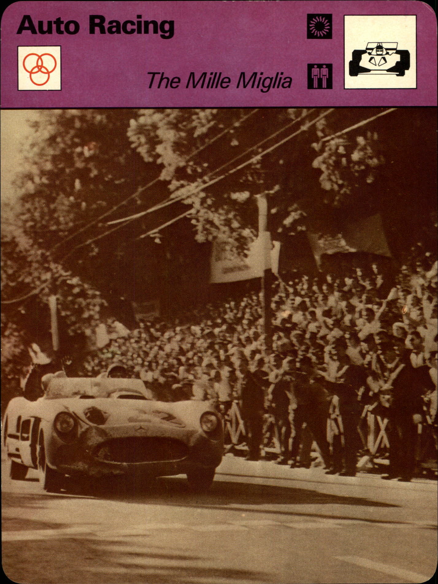 1977-79 Sportscaster Series 101 #10118 The Mille Miglia