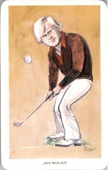 1979 World of Sport #22 Jack Nicklaus