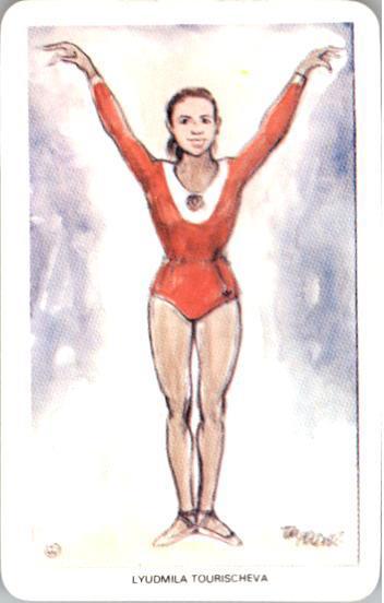 1979 World of Sport #43 Lyudmila Tourischeva