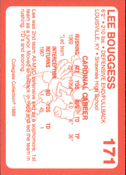 1989-90-Louisville-Collegiate-Collection-Sports-Card-Pick thumbnail 93