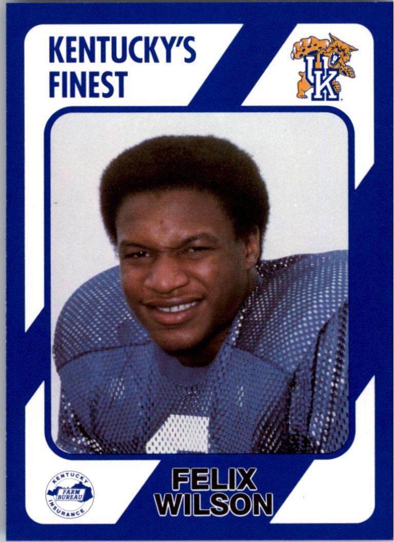 1989-90 Kentucky Collegiate Collection #146 Felix Wilson