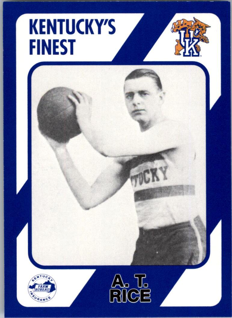 1989-90 Kentucky Collegiate Collection #250 A.T. Rice
