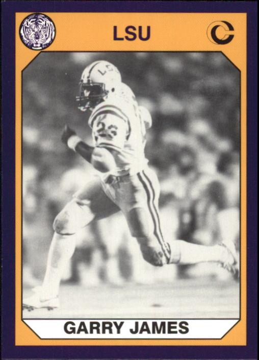 d8eb101fcbe 1990 LSU Collegiate Collection  75 Garry James
