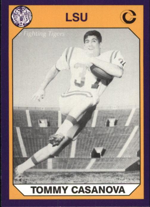 68433b999bf 1990 LSU Collegiate Collection  121 Tommy Casanova