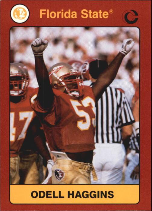 1990-91 Florida State Collegiate Collection #94 Odell Haggins