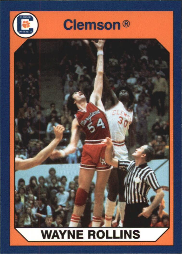 1990 91 Clemson Collegiate Collection 3 Wayne Tree Rollins K NM MT