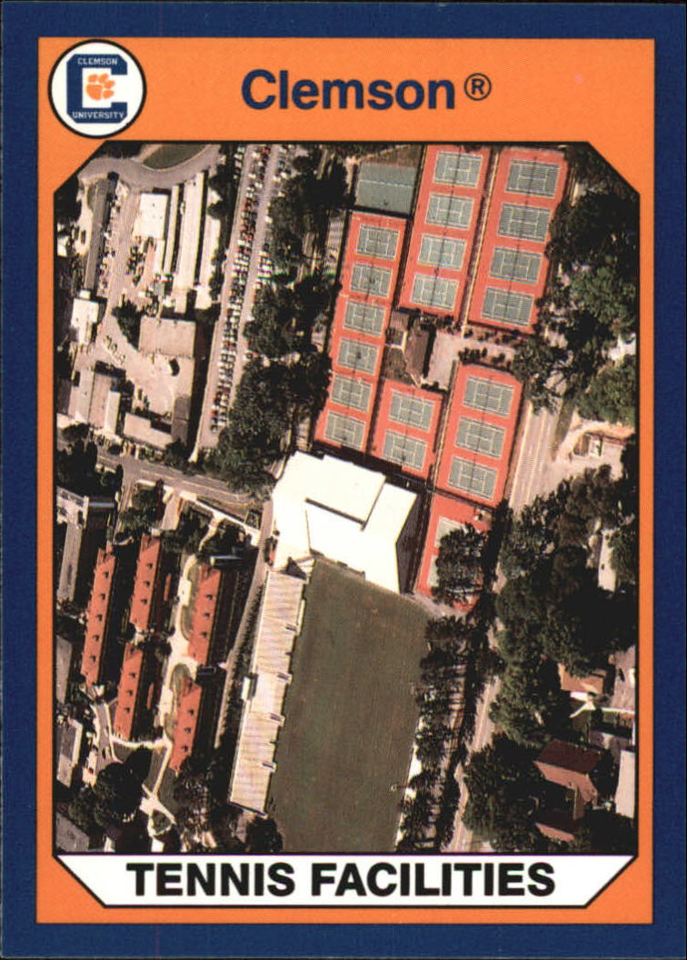 1990-91 Clemson Collegiate Collection #105 Soccer and Tennis Area