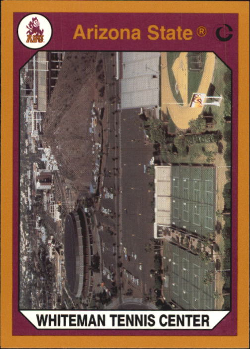 1990-91 Arizona State Collegiate Collection #88 Whiteman Tennis