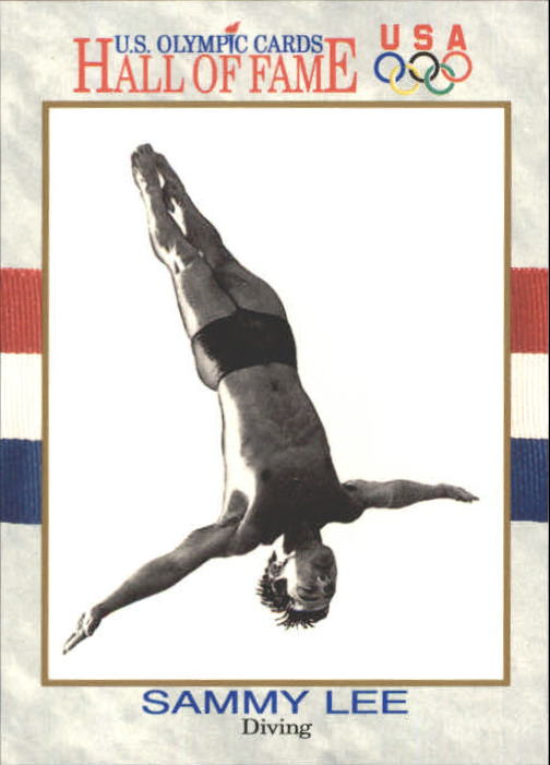 1991 Impel U.S. Olympic Hall of Fame #49 Sammy Lee M.D.