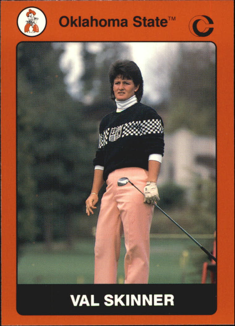 1991 Oklahoma State Collegiate Collection #79 Val Skinner GOLF