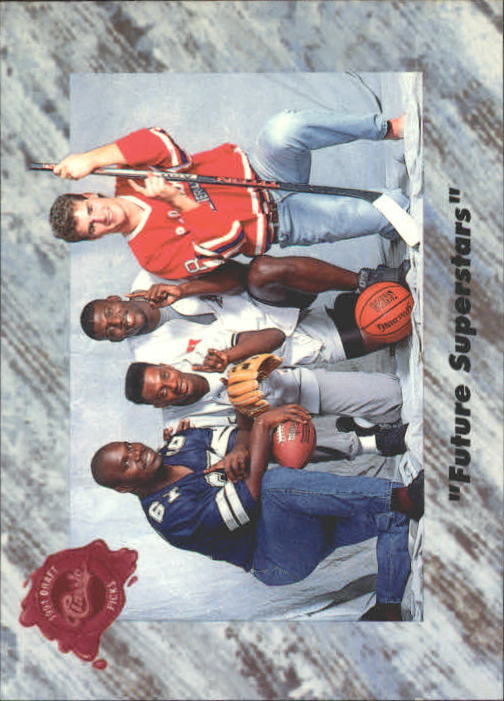 1991 Classic Four Sport #1 Future Superstars