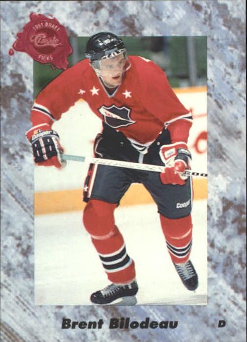 1991 Classic Four Sport #14 Brent Bilodeau