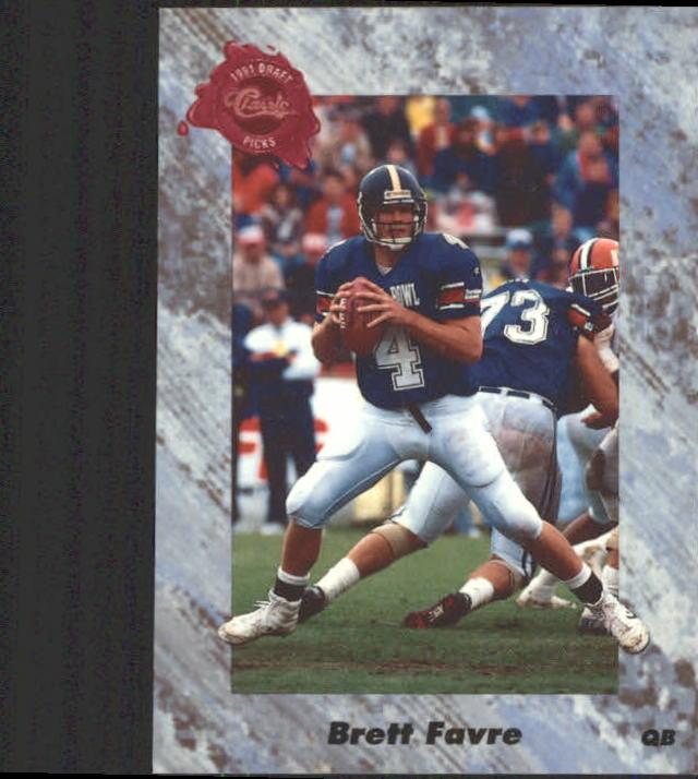 1991 Classic Four Sport #129 Brett Favre