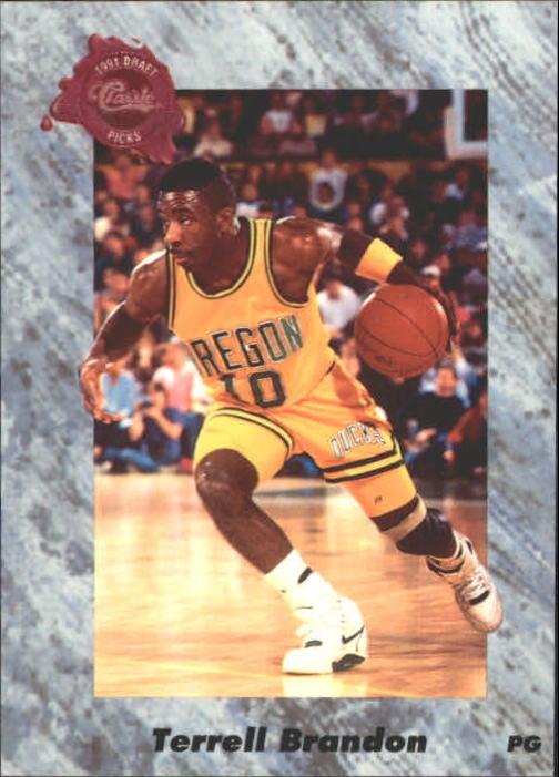 1991 Classic Four Sport #154 Terrell Brandon