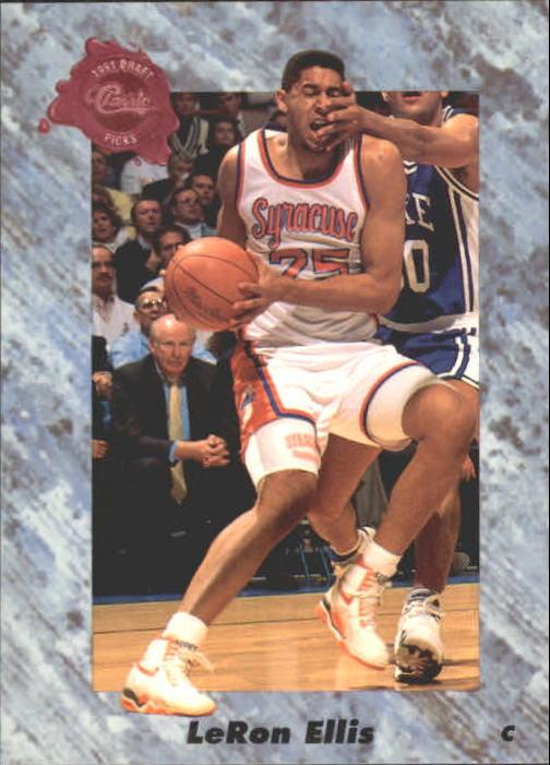 1991 Classic Four Sport #162 LeRon Ellis